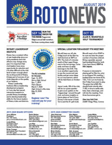RotoNews August 2019